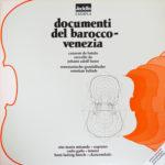 Documenti Del Barocco - Venezia Jecklin Exempla avec Ana Maria Miranda