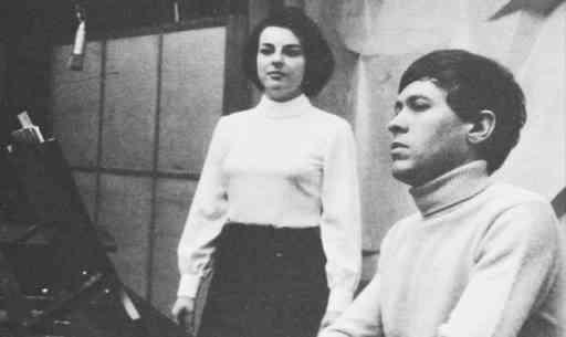 Christian Ivaldi et Ana Maria Miranda