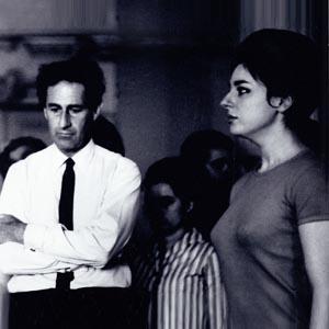 Ana Maria Miranda en répétition avec Gian Carlo Menotti - La