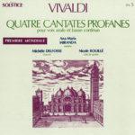 Vivaldi - Quatre Cantates Profanes Solstice Sol.5 avec Ana Maria Miranda