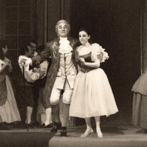 Despina Cosi Fan tutte avec gabriel Bacquier - Opéra de Marseille